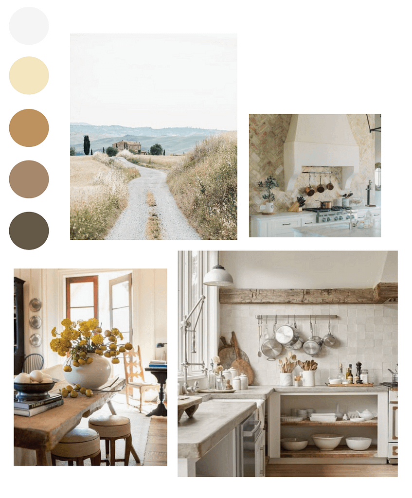 French Provincial Mood Board