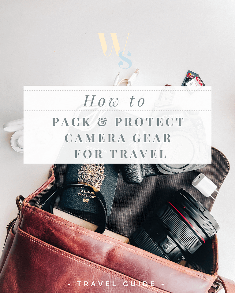 3 tips to keep camera gear safe while travelling