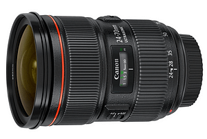 Camera lens for filming video content